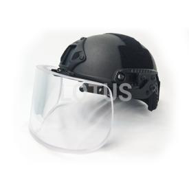 High Cut Ballistic Helmet with Visor
