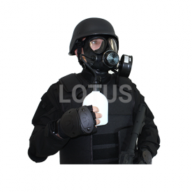 Gas Mask with Filter and Drinking botttle