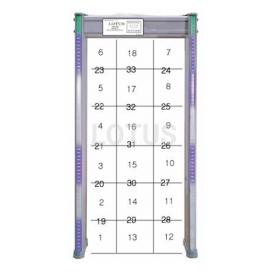 33 Zone Metal Detector Gate
